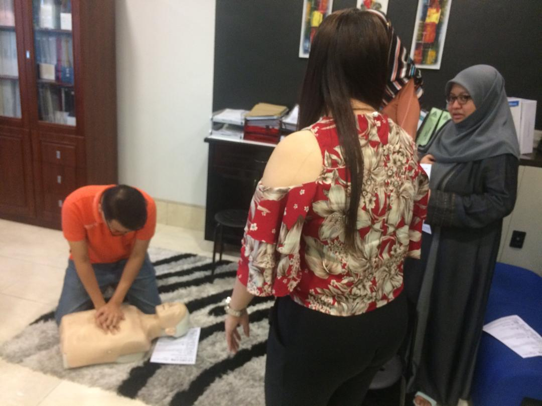 CPR Training at Asaga (HQ)